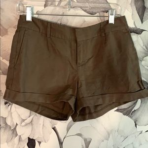 Brown Linen Banana Republic Shorts